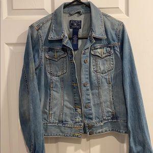 Lucky Brand Women's Distressed Denim Jacket